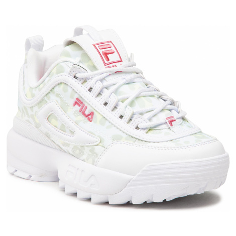 Sneakersy FILA - Disruptor N 1011238.91Z White/Leopard