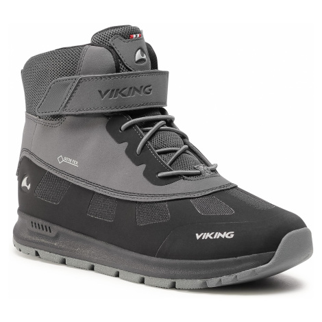 Śniegowce VIKING - Ted Gtx GORE-TEX 3-89400-277 Black/Charcoal