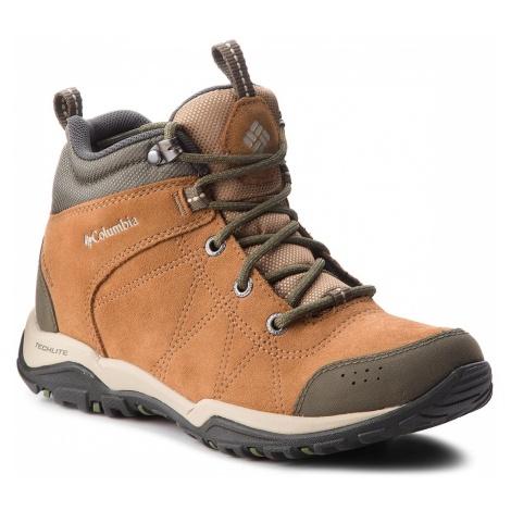 Trekkingi COLUMBIA - Fire Venture Mid Suede Waterproof BL1717 Elk/Ancient Fossil 286