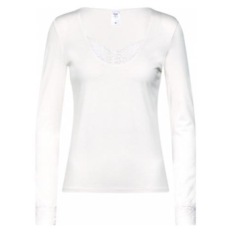 CALIDA Koszulka do spania 'Silky Modal' biały