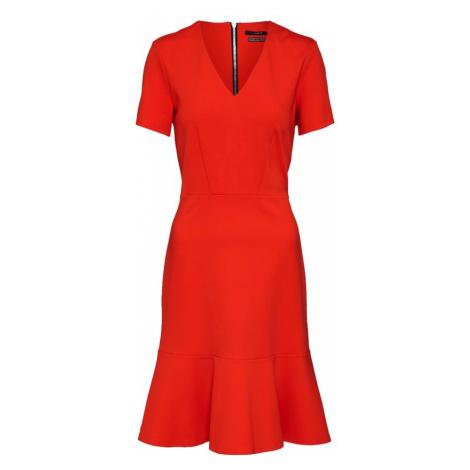 SET Sukienka koktajlowa czerwony