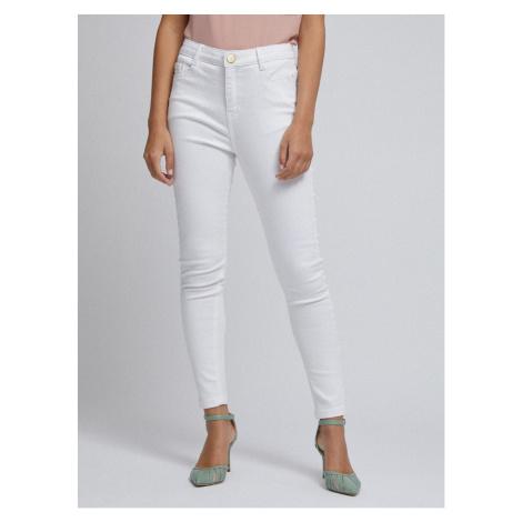 White Skinny Fit Jeans Dorothy Perkins Petite Shape & Lift