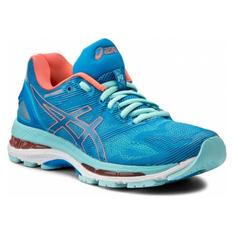 Buty ASICS - Gel-Nimbus 19 T750N Diva Blue/Flash Coral/Aqua Splash 4306