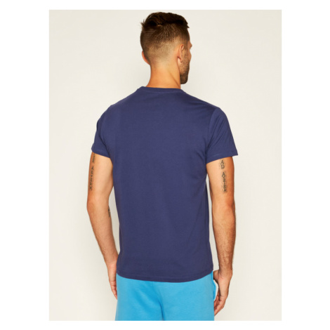 Pepe Jeans T-Shirt Eggo PM500465 Granatowy Regular Fit
