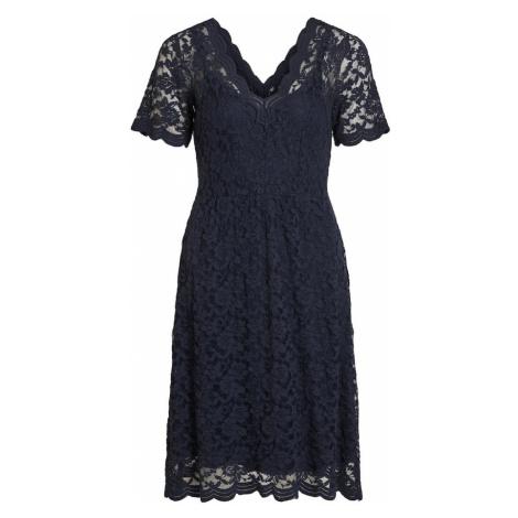 OBJECT Sukienka ciemny niebieski