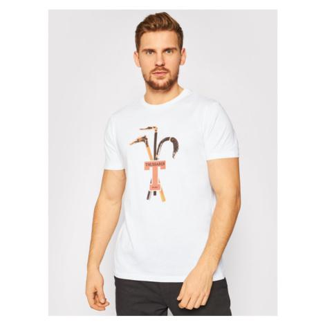 Trussardi Jeans T-Shirt 52T00431 Biały Regular Fit
