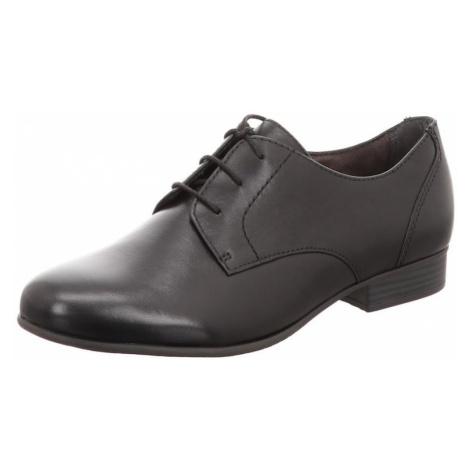 TAMARIS Buty sznurowane czarny