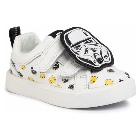 Sneakersy CLARKS - CityStormLo T 261494547 White