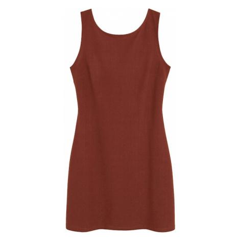MANGO Sukienka koktajlowa rdzawobrązowy