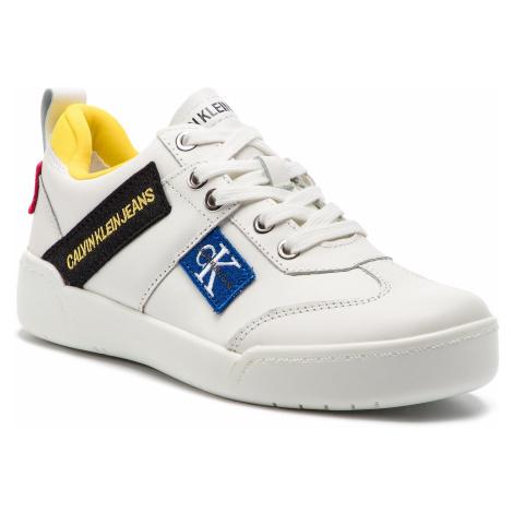 Sneakersy CALVIN KLEIN JEANS - Nilla R8067 Bright White