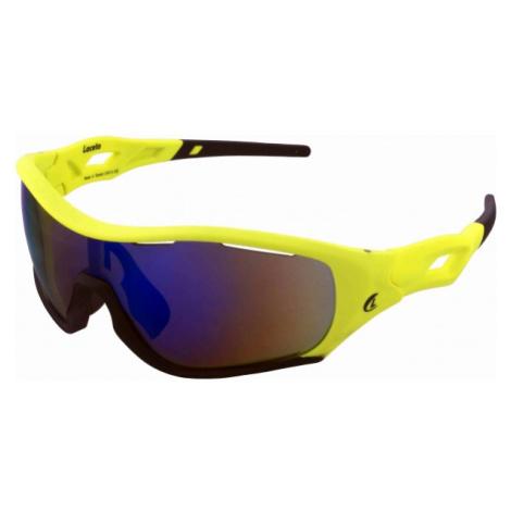 Laceto LT-SA1488 ALOY żółty  - Okulary przeciwsłoneczne sportowe