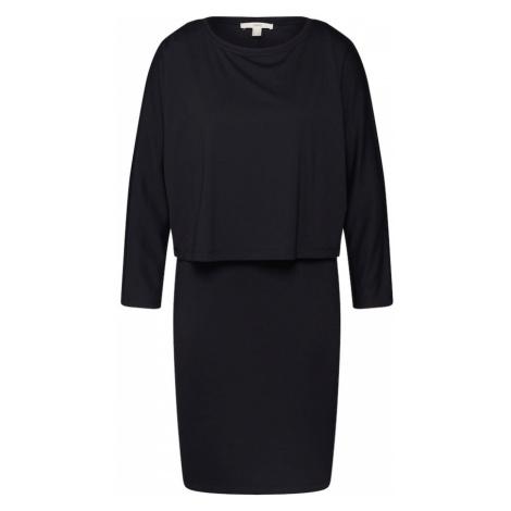 ESPRIT Sukienka 'softpunto' czarny