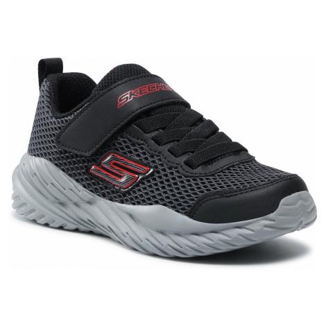Sneakersy SKECHERS - Krodon 400083L/BGRD Black/Gray/Red