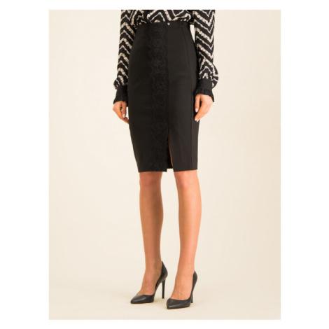 TwinSet Spódnica ołówkowa 192TP2095 Czarny Slim Fit