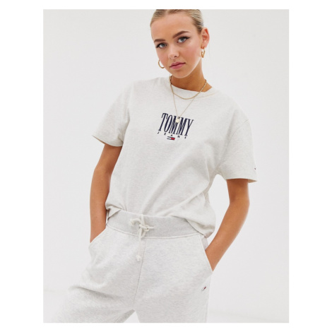 Tommy Jeans embroidered logo tee Tommy Hilfiger