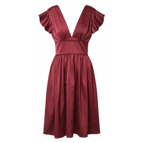 Chi Chi London Sukienka 'Kyomi' burgund