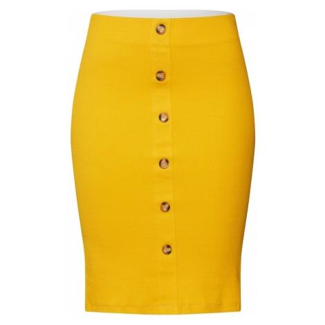 VILA Spódnica 'CONIA' żółty