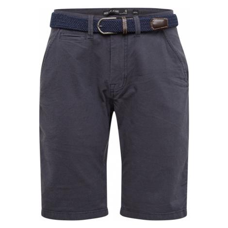 INDICODE JEANS Spodnie 'Dignum' niebieska noc