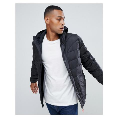 Hunter Original puffer jacket in black