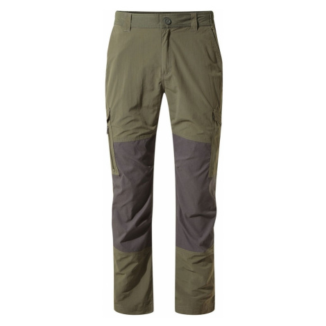 CRAGHOPPERS Spodnie męskie NOSILIFE PRO ADVENTURE TROUSERS mid khaki-36-Zielony