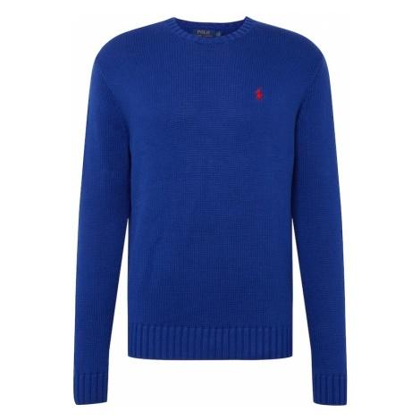 POLO RALPH LAUREN Sweter królewski błękit