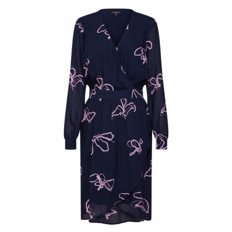 SELECTED FEMME Sukienka 'HAVEN' granatowy / liliowy