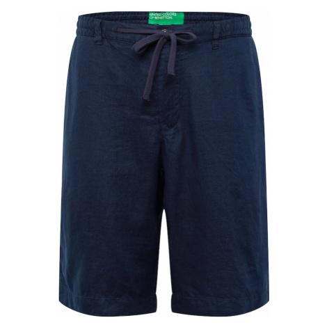 UNITED COLORS OF BENETTON Spodnie ciemny niebieski