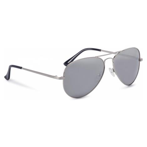 Okulary przeciwsłoneczne BIG STAR - Z74058 Silver/Silver