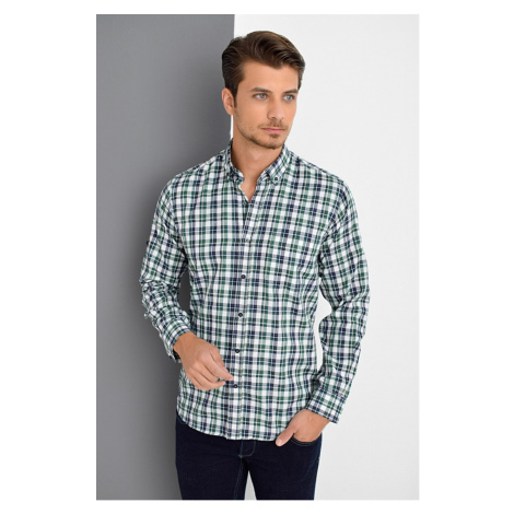 G669 DEWBERRY MEN's SHIRT-GREEN