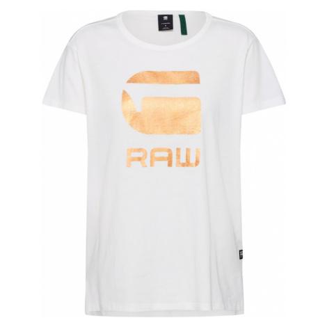 G-Star RAW Koszulka 'Graphic 21 r t wmn ss' kremowy