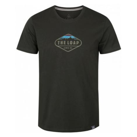 Loap BANDOS ciemnozielony M - Koszulka męska