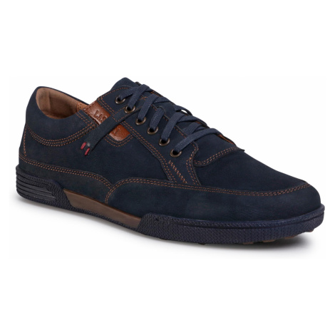 Półbuty LASOCKI FOR MEN - MB-QUATRA-03 Navy