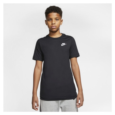 T-shirt dla dużych dzieci Nike Sportswear - Czerń