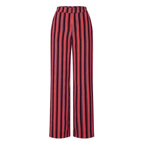 Gestuz Spodnie 'Tilly' różowy / czerwony / czarny