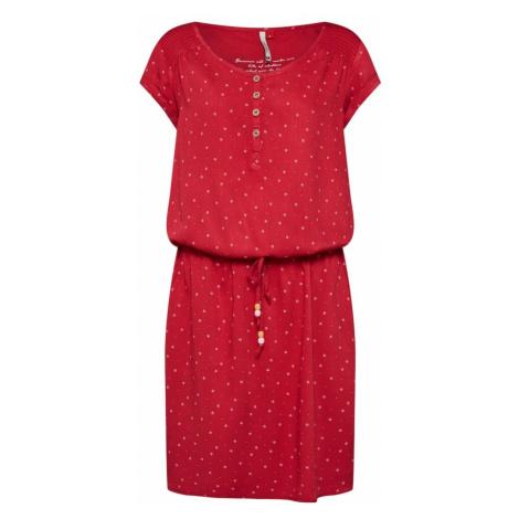 Ragwear Letnia sukienka 'Danila' czerwony / biały