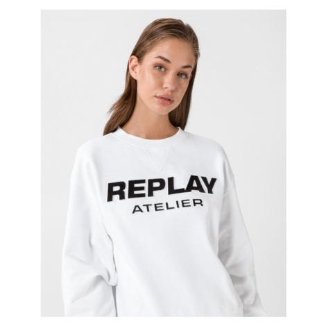 Replay Bluza Biały