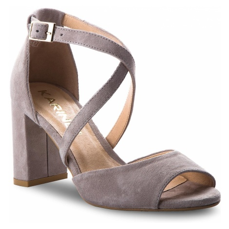 Sandały KARINO - 2427/002-P Szary