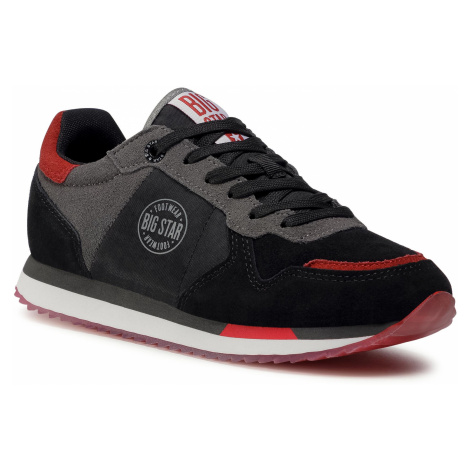 Sneakersy BIG STAR - GG274461 Black/Red