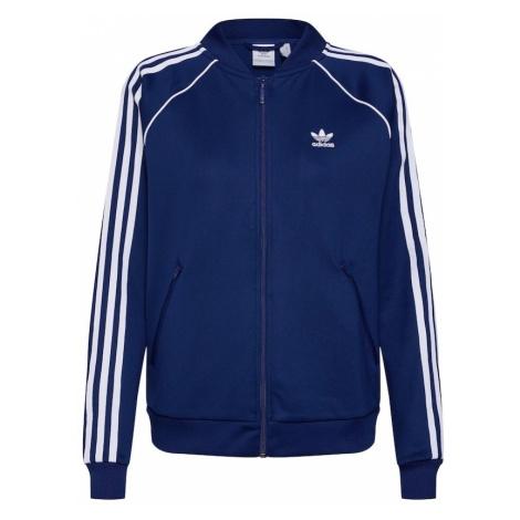 ADIDAS ORIGINALS Bluza rozpinana niebieski / biały
