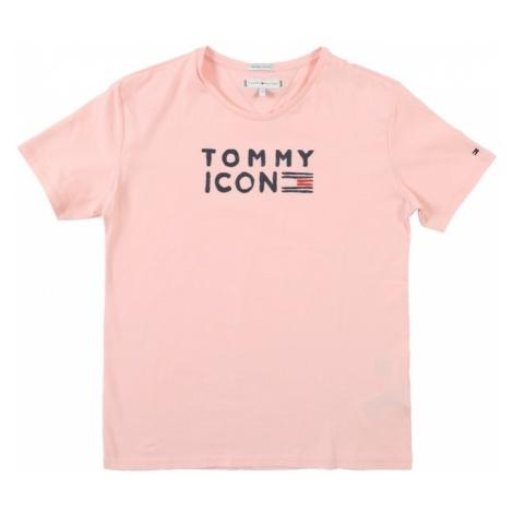 TOMMY HILFIGER Koszulka różowy pudrowy