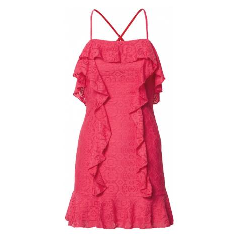 Love Triangle Sukienka koktajlowa 'Flamingo' neonowy róż