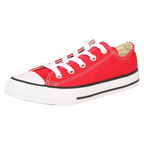 CONVERSE Trampki 'All Star' czerwony / biały / czarny