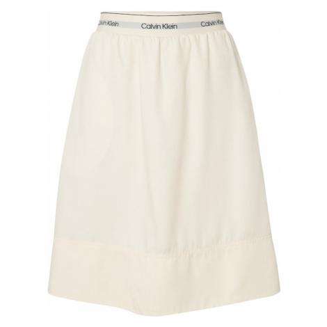 Calvin Klein Spódnica beżowy