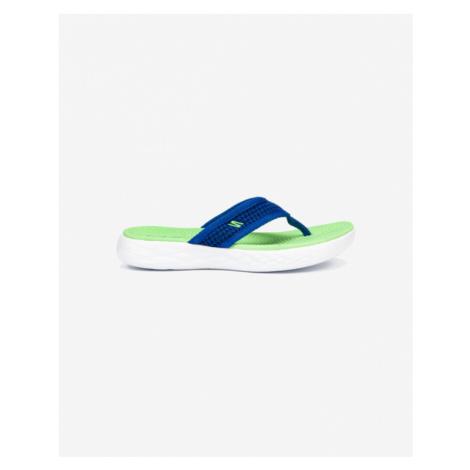 Skechers On The Go Klapki dziecięce Zielony