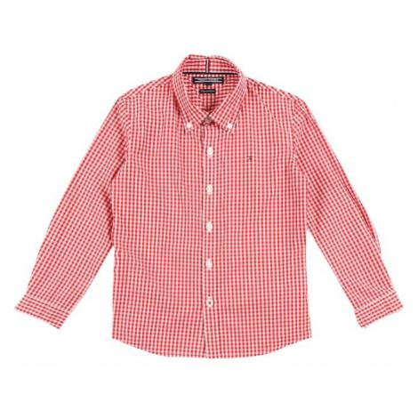 TOMMY HILFIGER Koszula 'GINGHAM' czerwony / biały