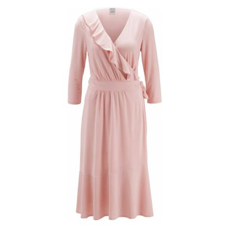 Heine Sukienka różowy pudrowy