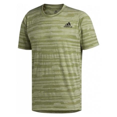 adidas FL TEC A EN HEA zielony S - Koszulka sportowa męska