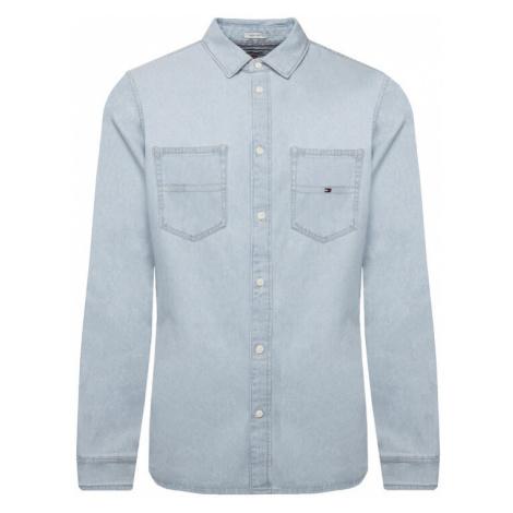 Tommy Jeans Koszula Tjm Denim DM0DM05465 Niebieski Regular Fit Tommy Hilfiger