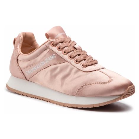 Sneakersy CALVIN KLEIN JEANS - Jill R7807 Peach Keen