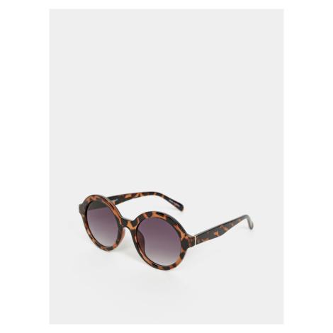 Brązowe okulary przeciwsłoneczne VERO MODA Alma